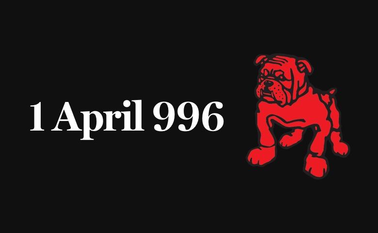 1 April 996